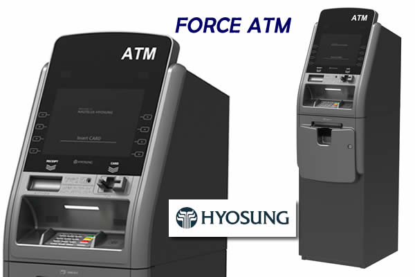 Purchase or lease a Nautilus Hyosung Force Series ATM from Funds Access Inc.